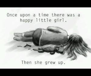 sad, depressed, and grew up image