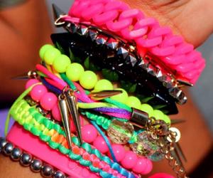 bracelets, fashion, and arm candy image