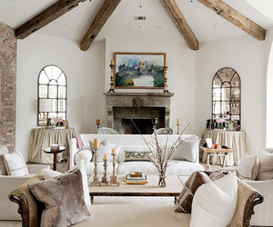 living room and white image