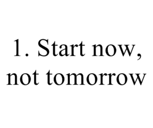quotes, now, and start image