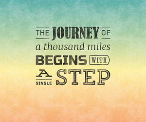 journey, life, and quote image