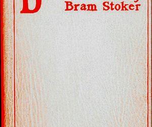 bram stoker and Dracula image