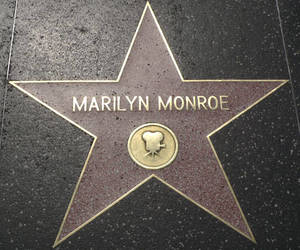 Marilyn Monroe, star, and Walk of Fame image