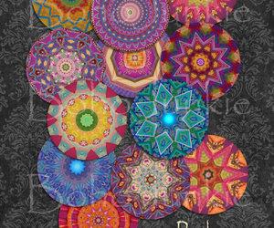 craft supplies, graphics, and mandalas image