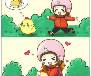 chibi, running man, and song ji hyo image