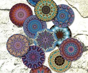 coasters, pendants, and mandalas image