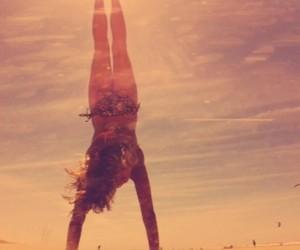beach, bikini, and dance image