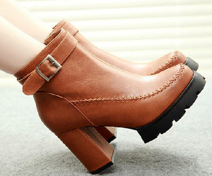 ankle boot, elegant, and high heel image