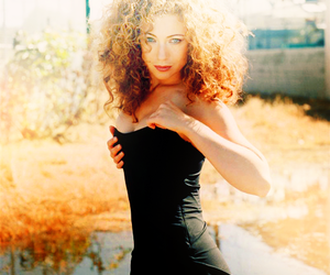 actress, amazing, and curly hair image