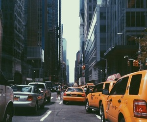 new york, city, and hipster image