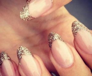 art, nails, and sparkle image