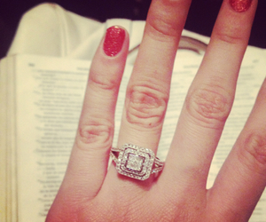diamonds, commitment, and engagement image