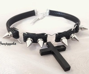 accessory, black, and choker image