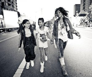 black and white, willow, and willow smith image