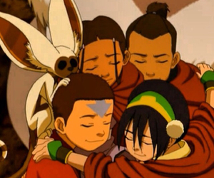 aang, anime, and momo image