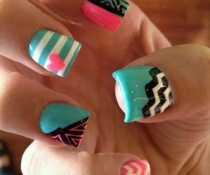 black, designs, and nails image