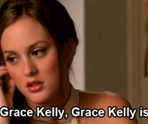 blair waldorf, gossip girl, and grace kelly image