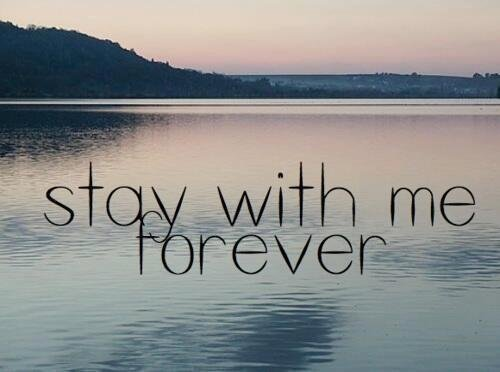 forever, stay, and love image