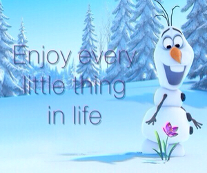 olaf, frozen, and life image