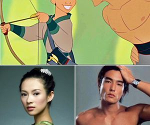 disney, shang, and Daniel Henney image