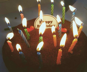 cake, happy, and hbd image