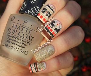 nails, cute, and nail art image