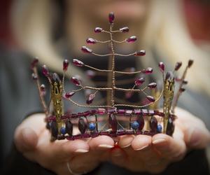 crown, crystal, and princess image