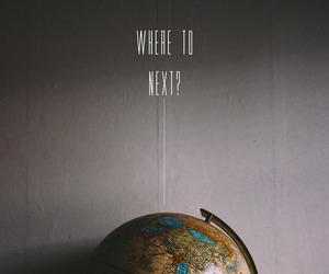 travel, world, and globe image