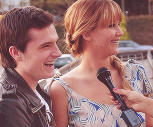 Jennifer Lawrence, smile, and josh hutcherson image