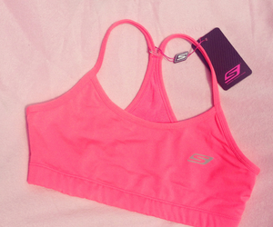 fitness, pink, and running image
