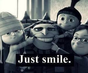 minions, smile, and weheartit image