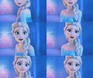 frozen, queen elsa, and elsa image