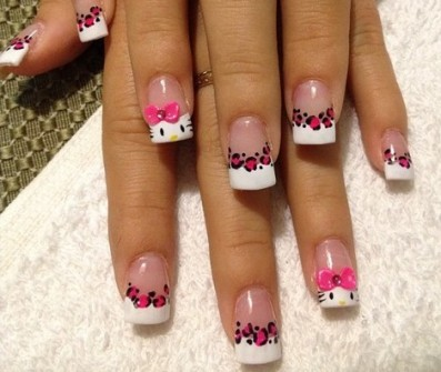 Lo Mejor En Uñas Decoradas De Hello Kitty On We Heart It