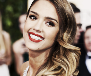 jessica alba, smile, and beautiful image