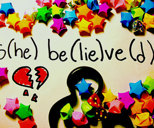 lies, believe, and stars image