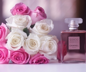 chanel, rose, and pink image