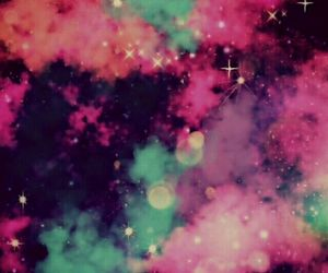 galaxy, wallpaper, and pink image
