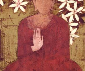 Buddha, meditation, and peace image