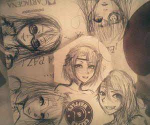 amigas, kawaii, and boceto image