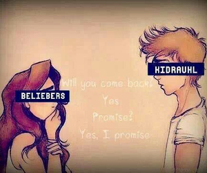 beliebers, promise, and justin bieber image