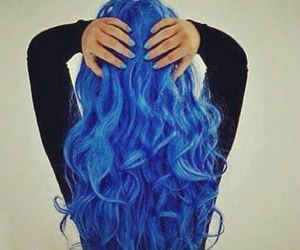 blue, love, and fashion image