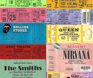 bands, nirvana, and tickets image