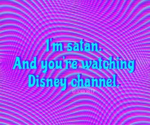 disney, satan, and grunge image