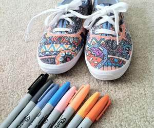 creative, diy, and markers image