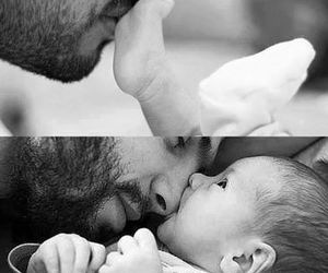 baby, love, and dad image