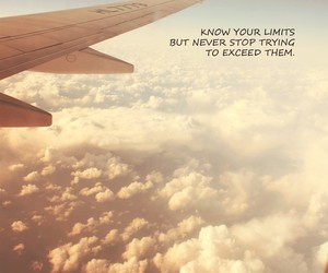 limit, quote, and sky image