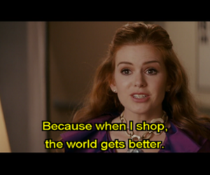 shopping, shop, and movie image