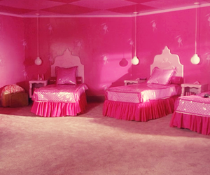 pink, but i'm a cheerleader, and bedroom image