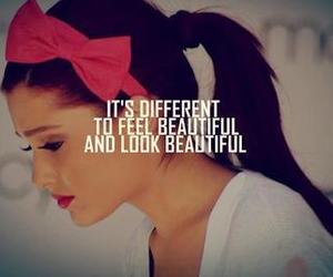 beautiful, ariana grande, and quote image