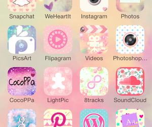 girly, iphone, and themes image